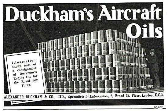 Duckhams Aircraft Oils