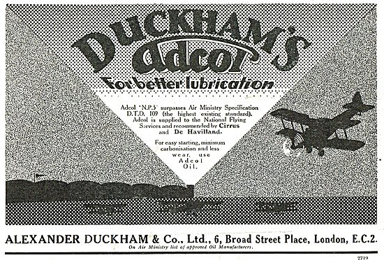 Duckhams Adcol For Better Lubrication