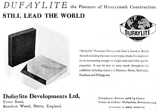 Dufaylite Developments.  Structural Honeycomb Core