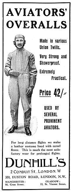Dunhills Aviators Overalls.