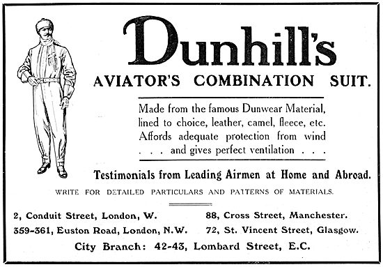 Dunhill's Aviators' Combination Flying Suit