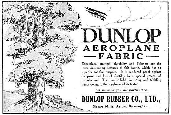 Dunlop Aeroplane Fabric
