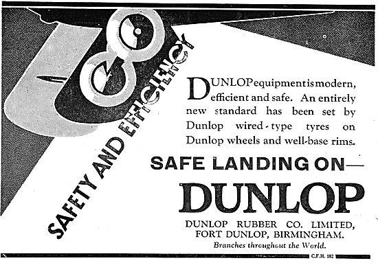 Dunlop Aeroplane Wheels & Tyres