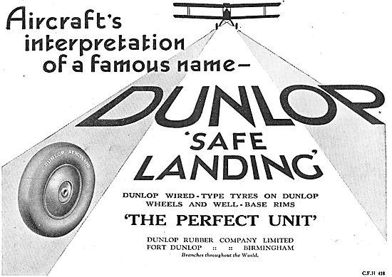 Choose Dunlop Aeroplane Wheels & Tyres For A Safe Landing