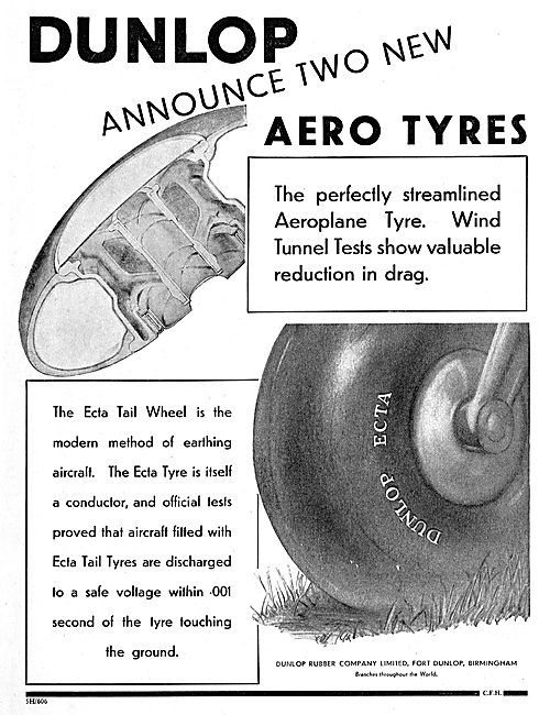 Dunlop Streamlined Aero Tyres