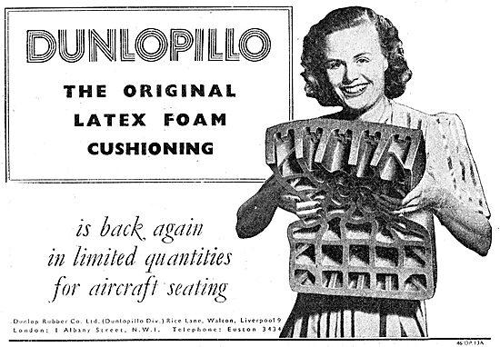 Dunlop - Dunlopillo Latex Foam Cushioing