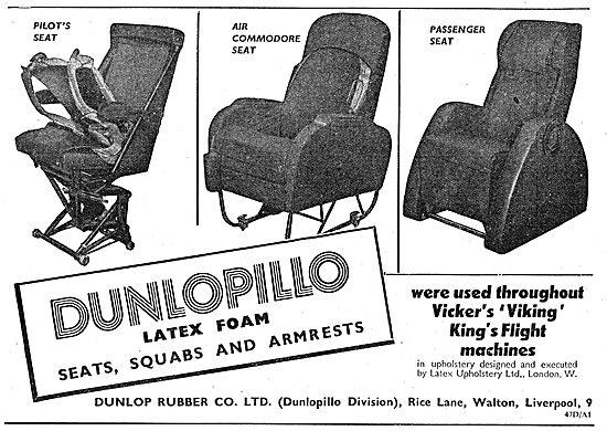 Dunlop - Dunlopillo Seat Squabs & Armrests