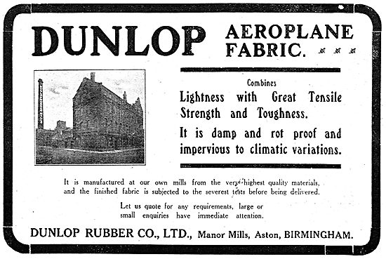 Dunlop Aeroplane Fabric - Manor Mills Aston