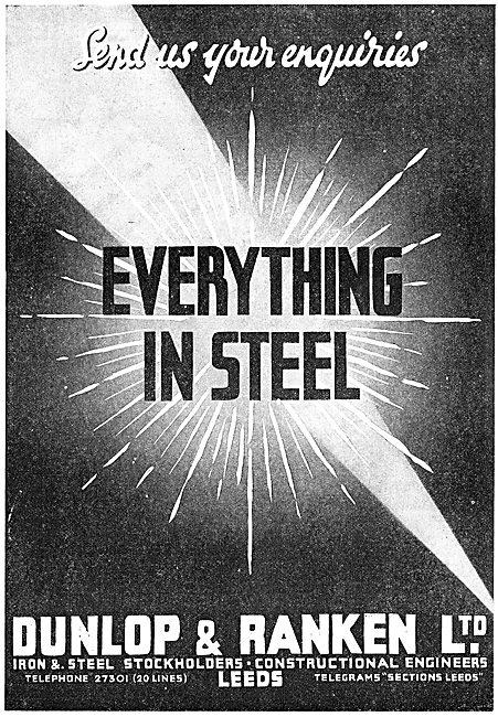 Dunlop & Ranken Iron & Steel Stockholders