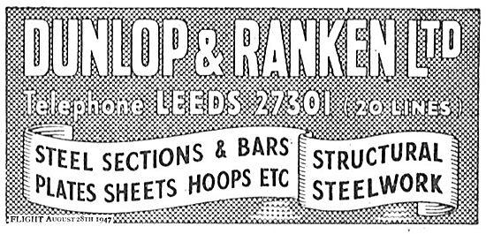 Dunlop & Ranken Leeds: Steel Sections & Bars