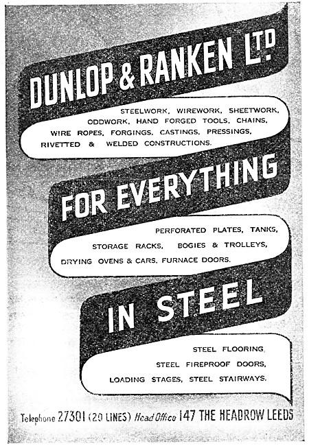 Dunlop & Ranken Manufacturers In Steel