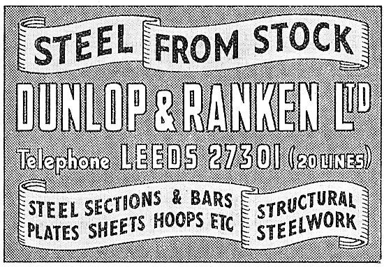 Dunlop & Ranken. Leeds. Steel Stockist. Structural Steelwork