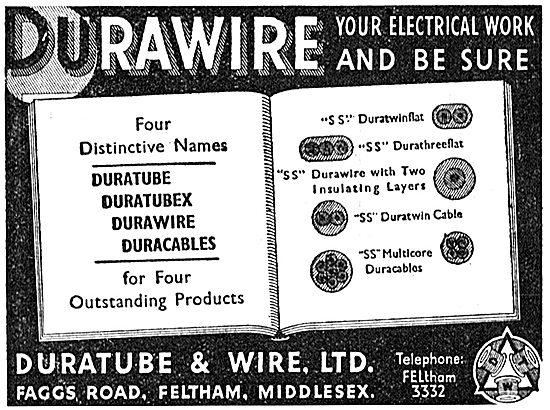 Duratube & Wire. Durawire Electrical Wire