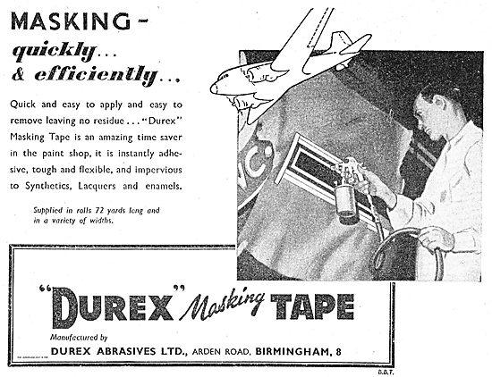 Durex Masking Tape For Aircraft Finishing