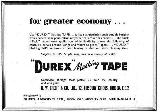 Durex Industrial Masking Tape