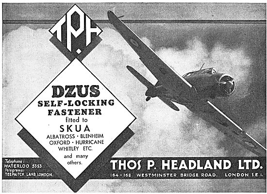Thomas Headland - DZUS Fasteners