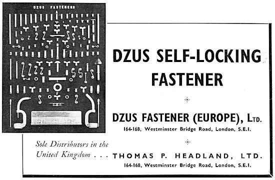 Dzus Self-Locking Fasteners