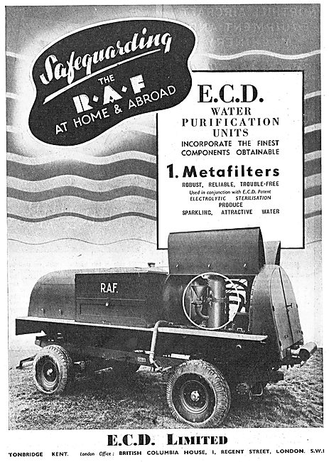 ECD Mobile Water Purification Units
