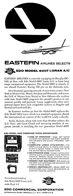 EDO Aircraft Corporation : EDO 600T Loran