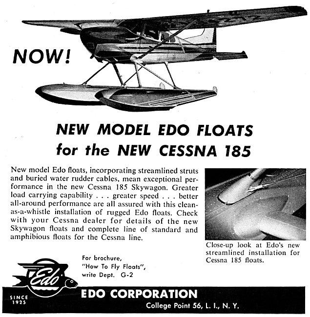 EDO Aircraft Corporation : EDO Seaplane Floats