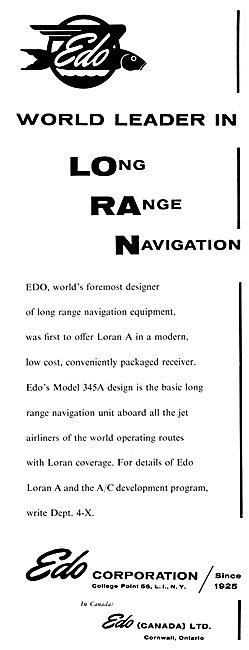 EDO LORAN - EDO Model 345A Loran