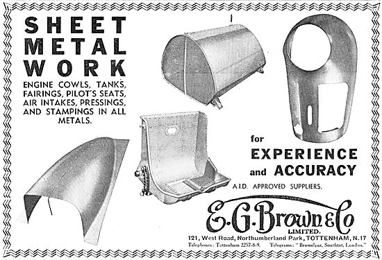 E.G.Brown - Aircraft Sheet Metal Work