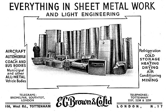 E.G.Brown Sheet Metal Workers