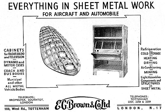 E.G.Brown Precision Sheet Metal Workers