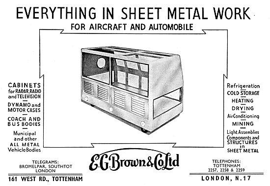 E.G.Brown Sheet Metal Work Assemblies