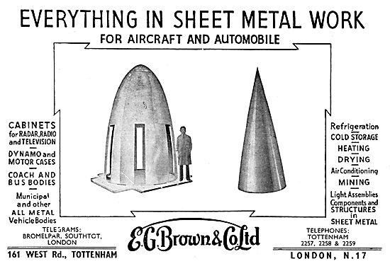 E.G.Brown Sheet Metal Work