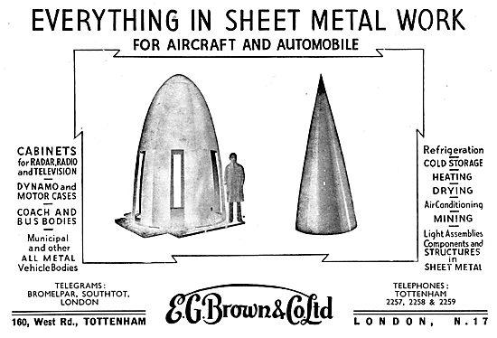 E.G.Brown Sheet Metal Work & Assemblies