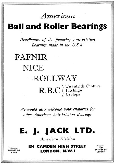 E.J.Jack Bearings Distributors