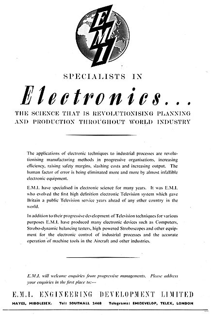 EMI Electronics For Aviation