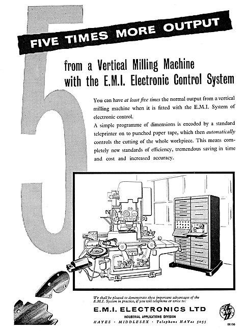 EMI Electronics. E.M.I. Machine Tool Electronic Control System
