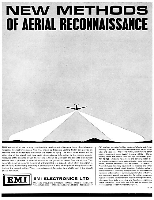 EMI Aerial Reconnaissance Systems