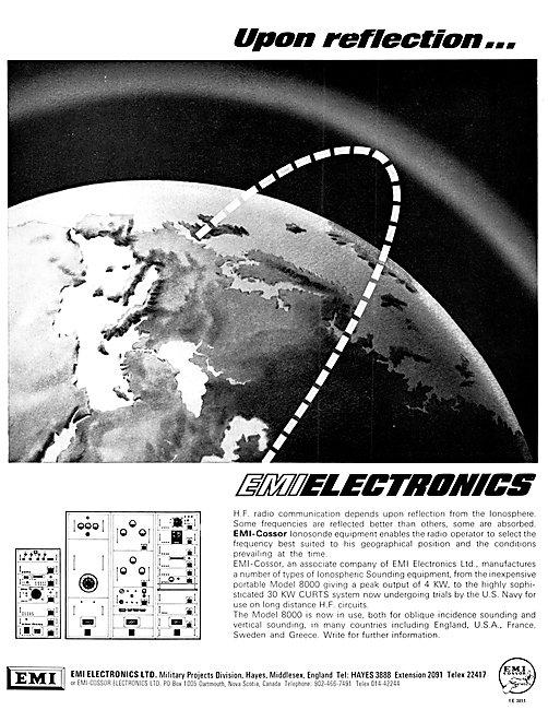 EMI Electronics. EMI-Cossor Ionosonde