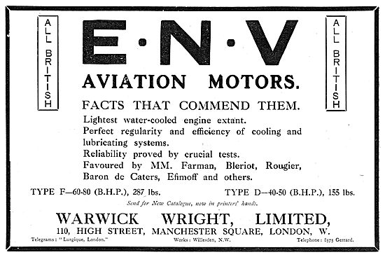 ENV Aviation Motors
