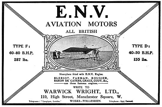 ENV  Aero Enginess - Warwick Wright