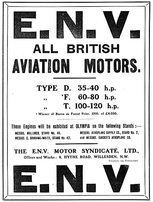 ENV Aero-Engines