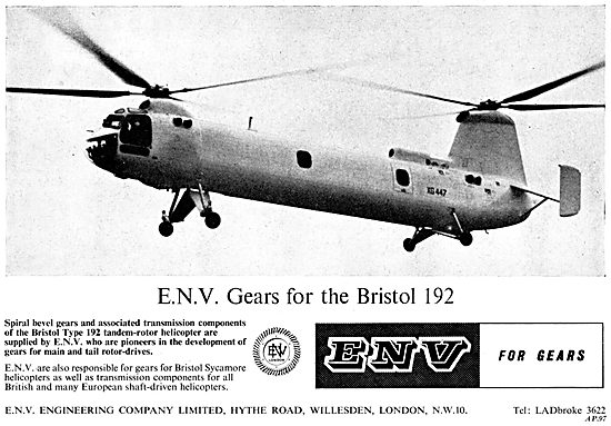 ENV Engineering. E.N.V. Gears For Aircraft