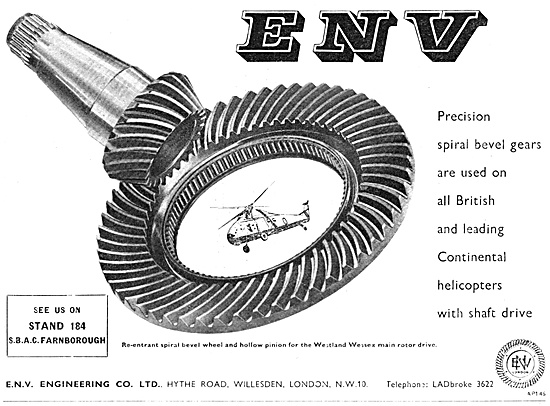 ENV Engineering Helicopter Rotor Drive Gears