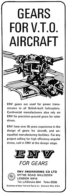 ENV Engineering Gears For Aircraft