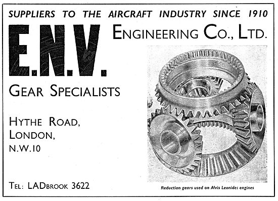 ENV Engineering. Hythe Road, Willesden. Gear Specialists