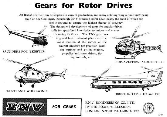 ENV Engineering Gears For Aviation
