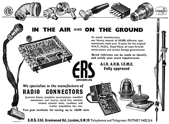 ERS A.I.D ,A.R.B , I.E.M.E Approved Radio Connectors & Junctions