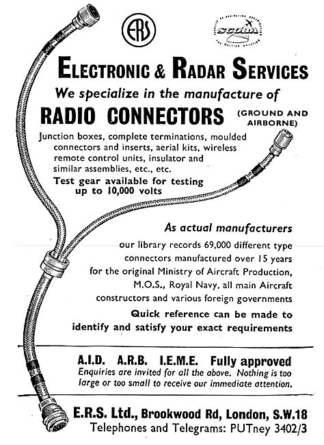 ERS Electronic & Radar Services Radio Connectors