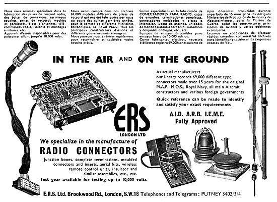 ERS Radio Connectors