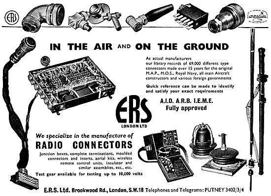 ERS Radio Connectors & Accessories. E.R.S.