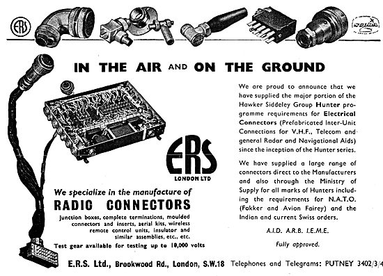 ERS Radio Connectors & Accessories