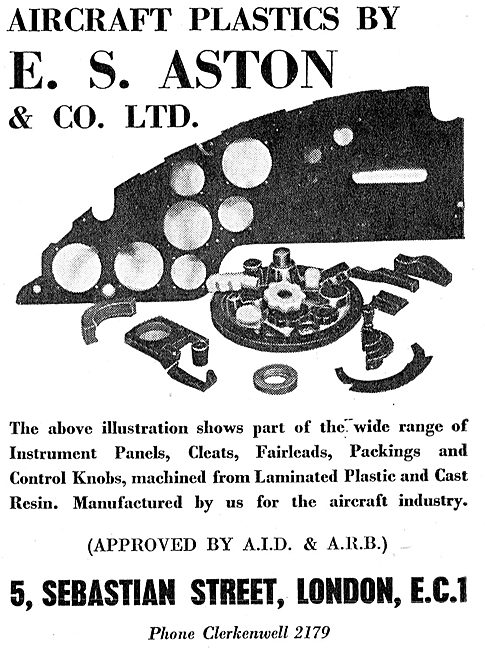 E.S. Aston - Plastics Machining